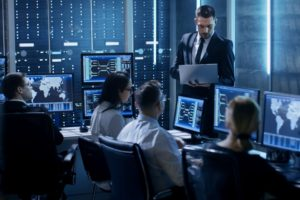 security operation center has a team that provides 24_7 monitoring and response service