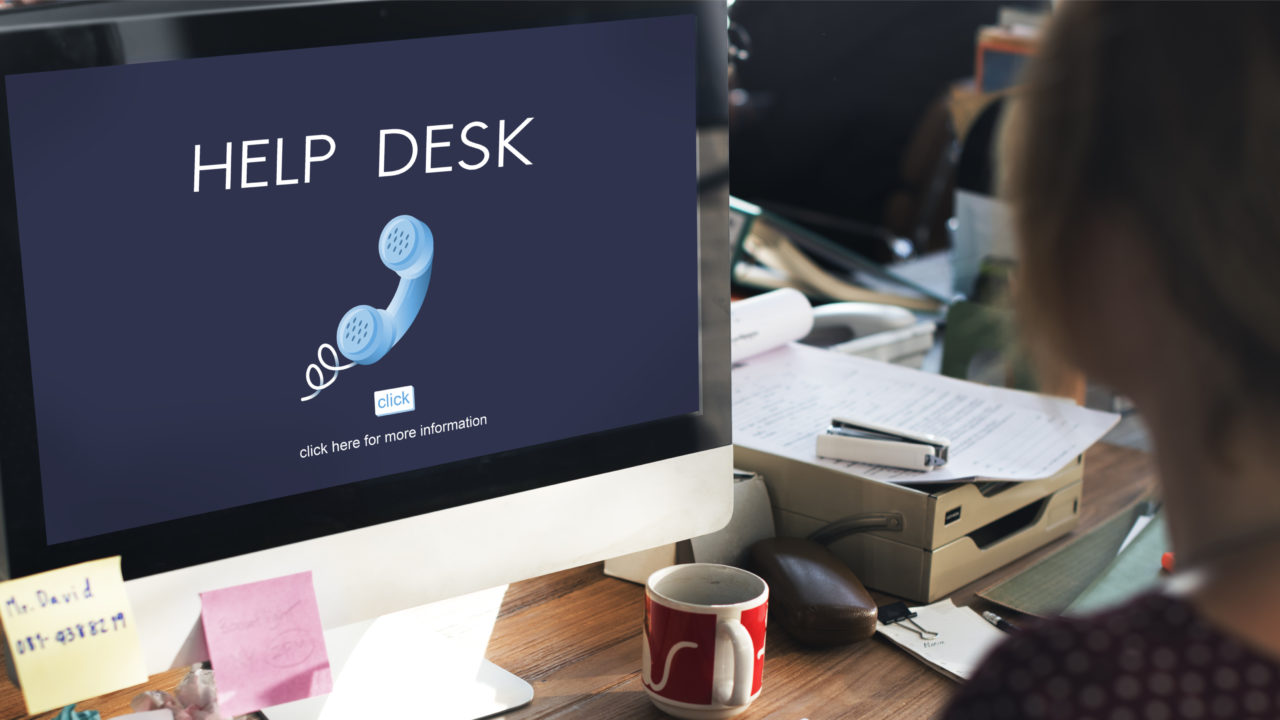 it help desk services are the first people reach in an organization whenever there is an internet or software issue