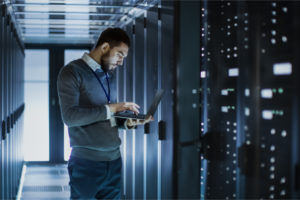 IT admin ensures the servers are following IT security compliance guidelines