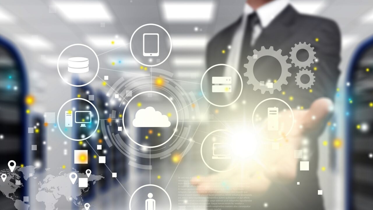 Benefits of Managed IT Services- Man and Various Icons