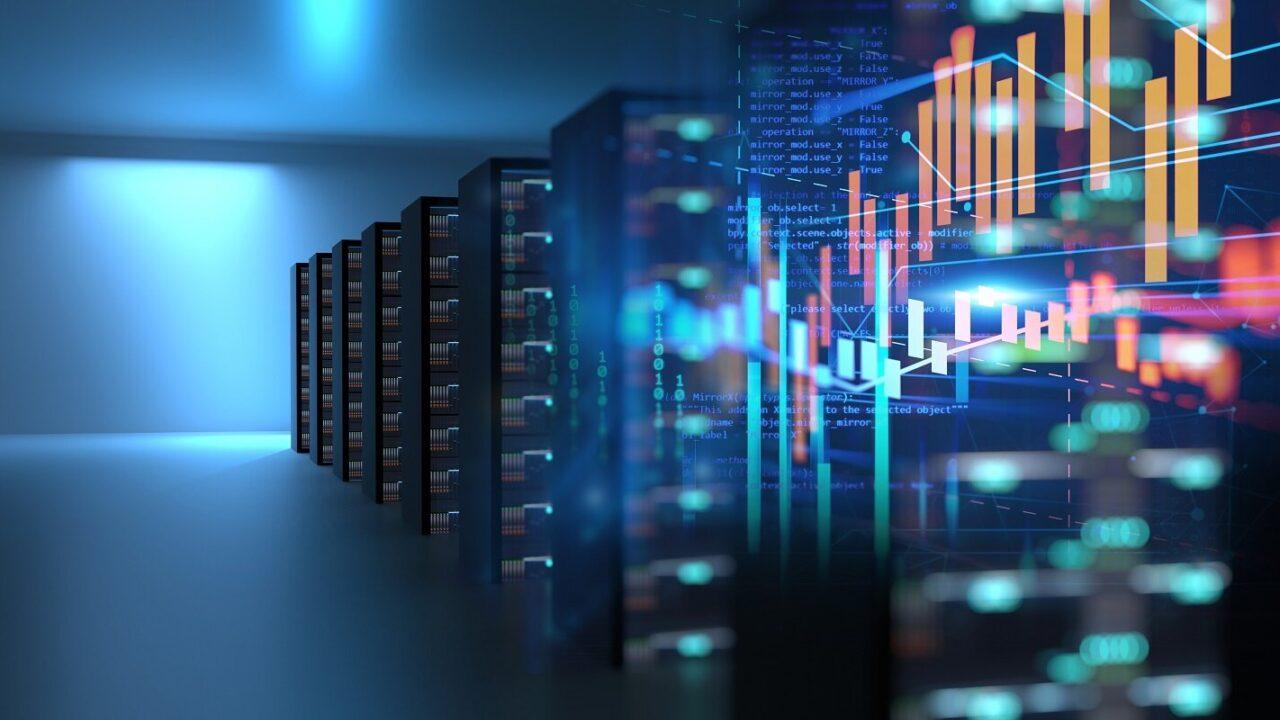 Managed IT Services- Server Room Illustration