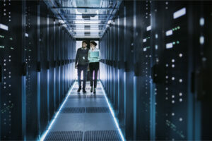 employees conduct thorough inspection of the servers to ensure they meet IT security compliance standards