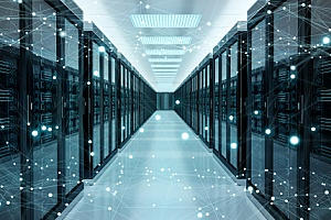 a data center that requires regular server maintenance to remain operational