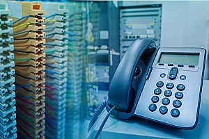 a PBX phone system that was installed by a NYC managed network service provider