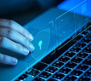 Cybersecurity specialist increasing security measures